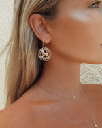 ZODIAC EARRINGS- 14k Yellow Gold
