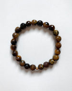 FACETED TIGER EYE BRACELET