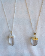 SOLD OUT: CRYSTAL QUARTZ NECKLACE