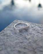 BAR RING- Sterling Silver