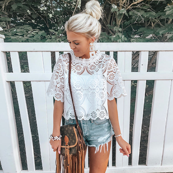 Zelda Lace Top