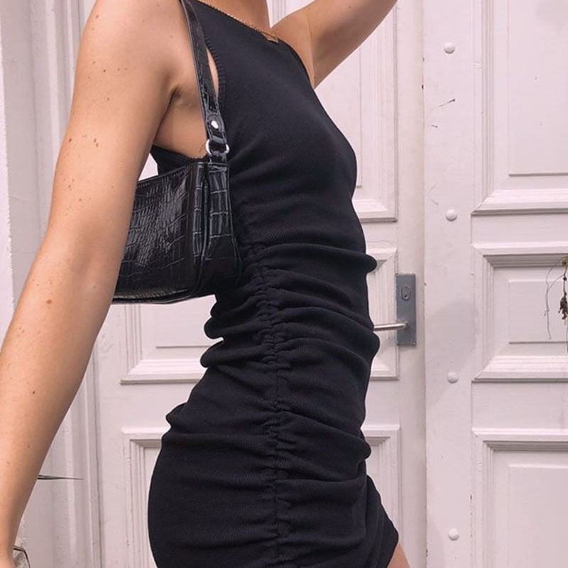 Megan Ribbed Dress