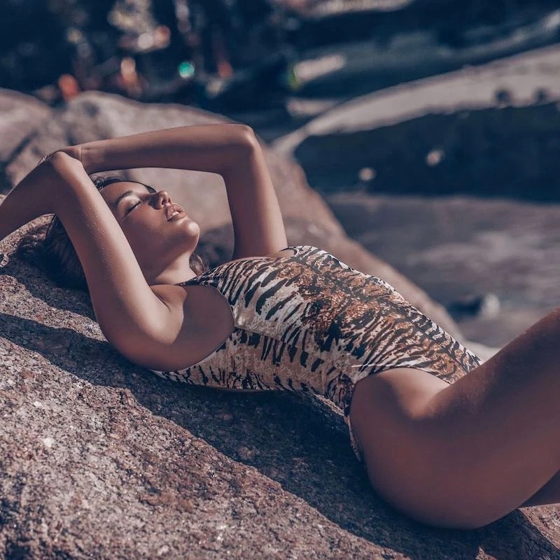 Marida Tiger Print Swimsuit
