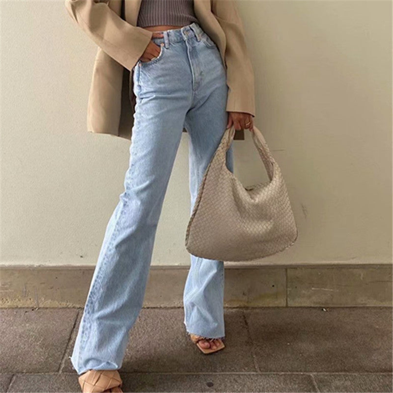 Sami High Waisted Denim Pants