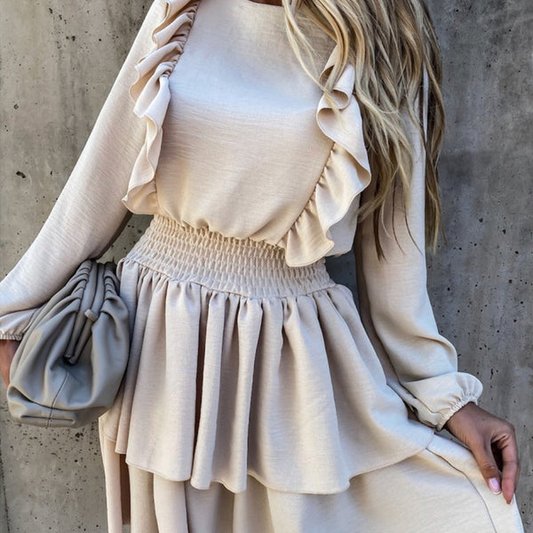 Angelita Ruffle Dress