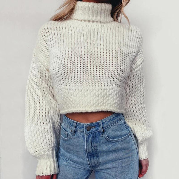 Fionne High Neck Sweater