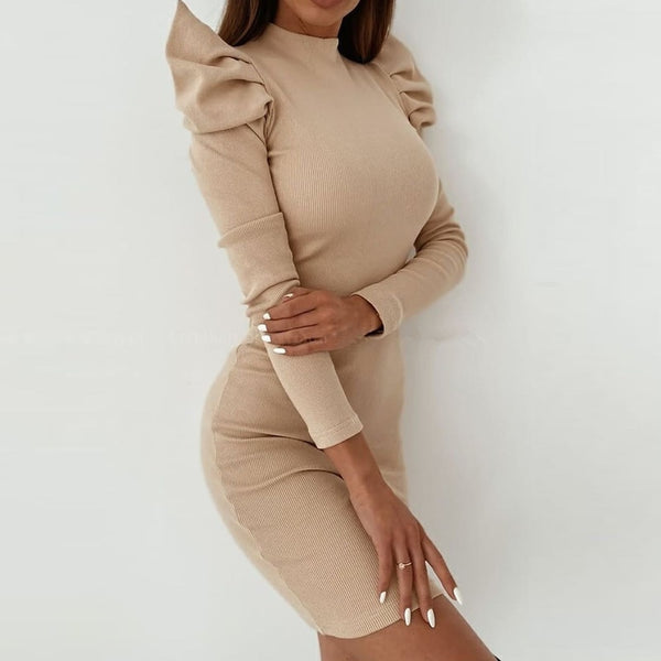 Massimo Puff Sleeve Dress