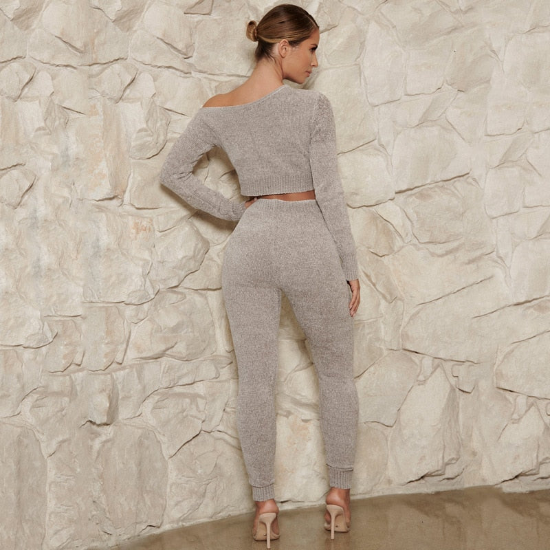 Tessa Knitted Two Piece Set