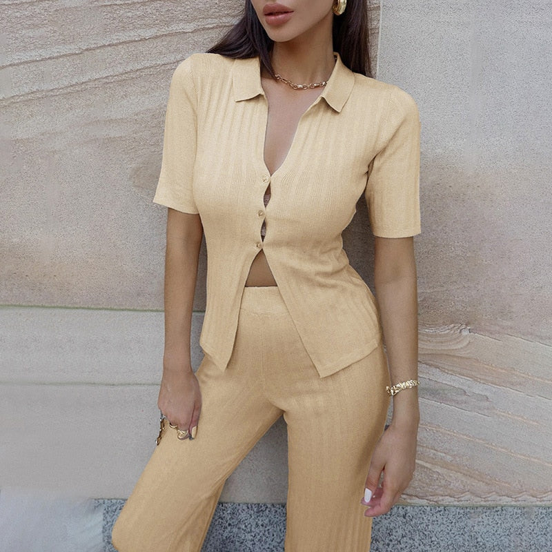 Norala Knitted Two Piece Set
