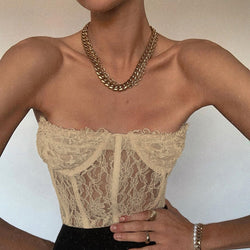 Brisa Lace Crop Top