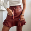 Sevilla Faux Leather Skirt