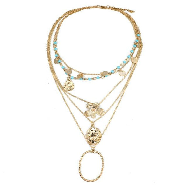 Shanti Layered Necklace