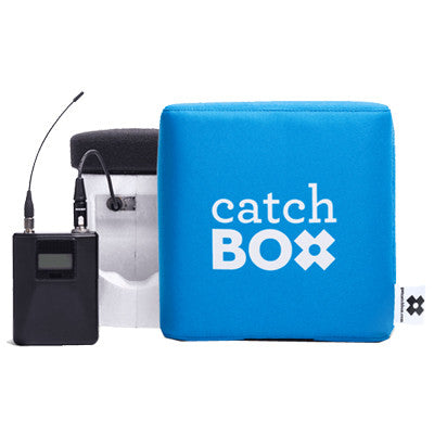 CatchBox Pro Throwable Wireless Microphone System - AudienceAlive