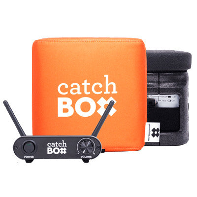 CatchBox Lite Throwable Wireless Microphone System - AudienceAlive