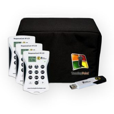 Turning Technologies RF LCD Voting Keypad Kit - AudienceAlive
