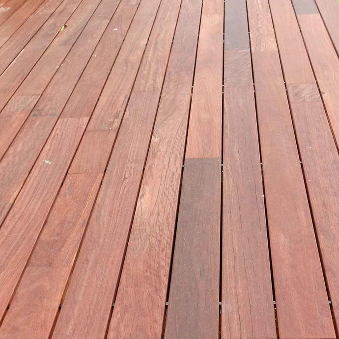 Australian Solid Decking - Iron Bark