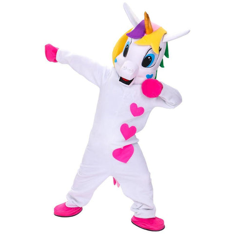 Rainbow Unicorn - Adult Mascot Costume - You can buy this awesome product from Smart Sales Australia!