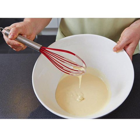Manual Silicone Whisk Beater Non-Sticky For Kitchen Utensil - Smart Sales Australia