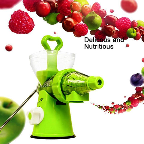 Manual Multi-Purpose Crank Juicer With Suction For Kitchen Use - Smart Sales Australia