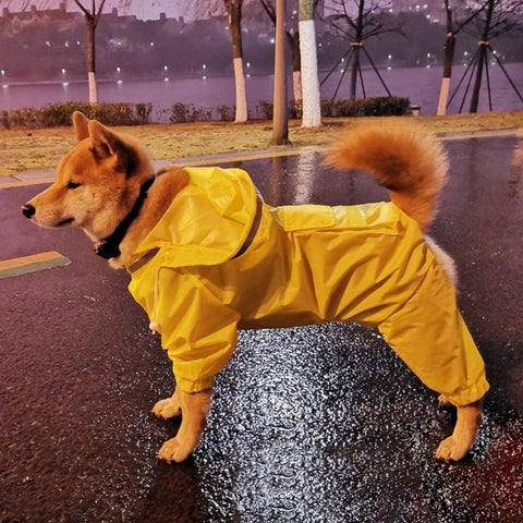 Waterproof Jumpsuit Raincoat for Dogs