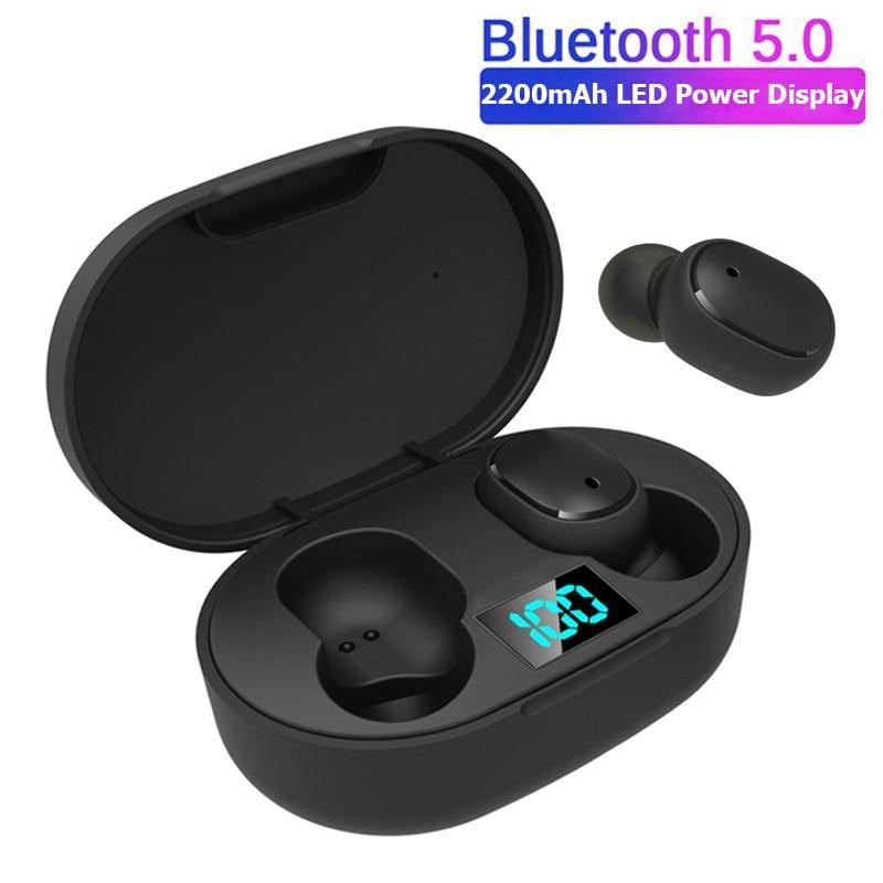 TWS Mini Bluetooth 5.0 Wireless Earphones LED Light For Android and iPhones - Smart Sales Australia