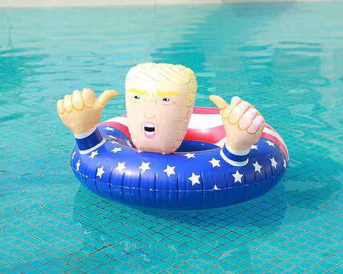 Donald Trump Inflatable Float For Swimming Pool - Smart Sales Australia