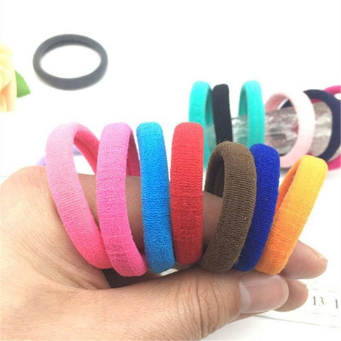 Womens Multipack Soft Cotton Hair Ties - You can buy this awesome product from Smart Sales Australia!
