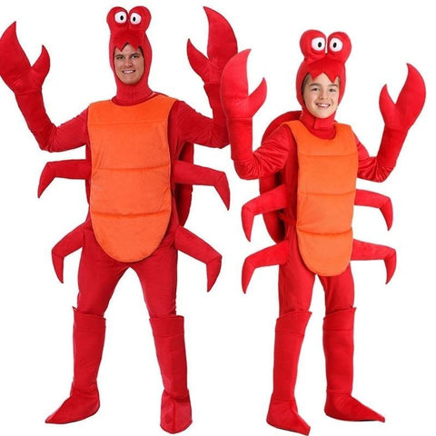 Red Lobster Adult & Child Halloween Mascot Costumes - You can buy this awesome product from Smart Sales Australia!