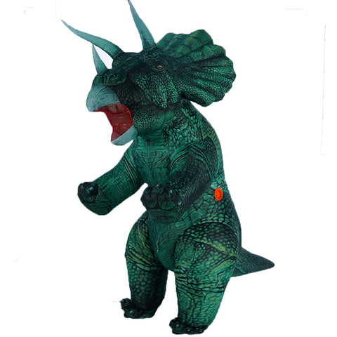 Inflatable Triceratops Adult Mascot Party Costume - Multiple Colours Available - You can buy this awesome product from Smart Sales Australia!