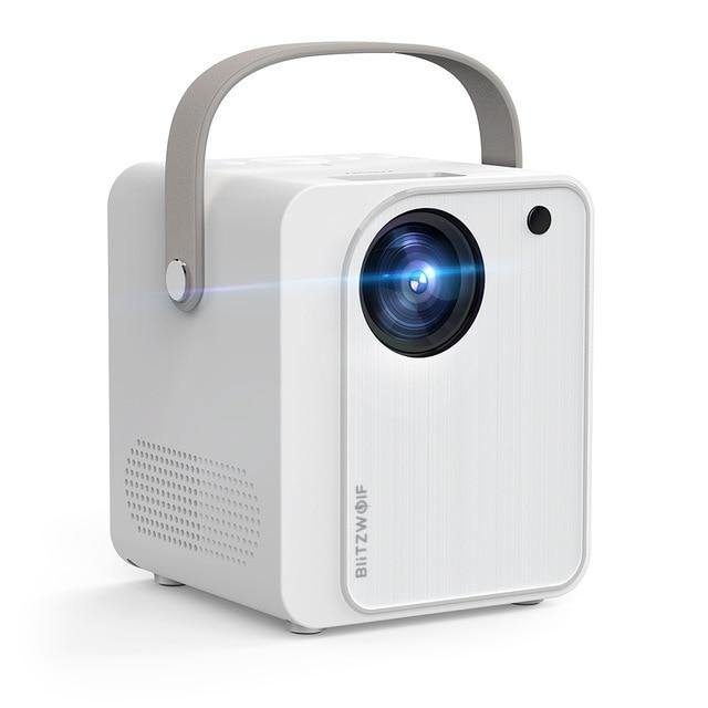 BlitzWolf BW-VP7 Mini Projector with Screen Mirroring Portable Wifi for Smartphone - Smart Sales Australia