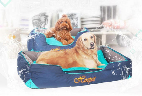 Water-Resistant Printed Cartoon Bed for Big Dogs