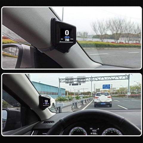 Overspeed Car Alarm Speed Projector with Dual System Head-up Display