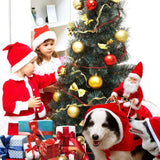 Dog Christmas Costume with Ride-On Santa Claus - Smart Sales Australia