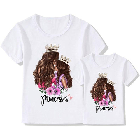 Mother And Daughter Matching Shirt Printed Super Mom and Daughter - Smart Sales Australia