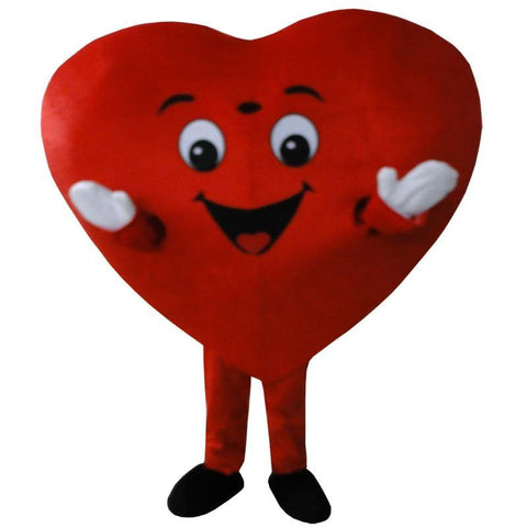 Red Love Heart - Adult Mascot Costume - You can buy this awesome product from Smart Sales Australia!