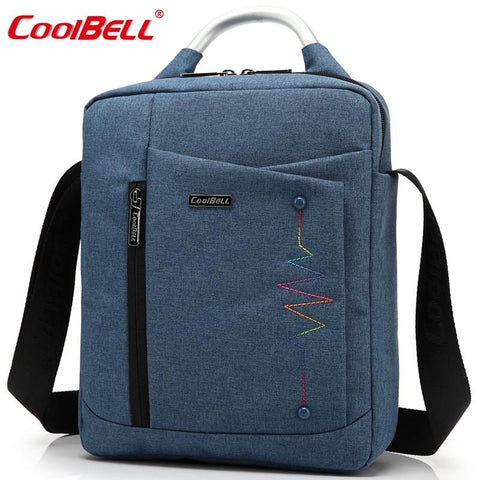 CoolBell Brand Casual Fashion Bag for iPad Air 2 3 iPad Mini iPad 4 Men Women Tablet Bag 8,10.6,12.4 inch Laptop Messenger Bag - You can buy this awesome product from Smart Sales Australia!