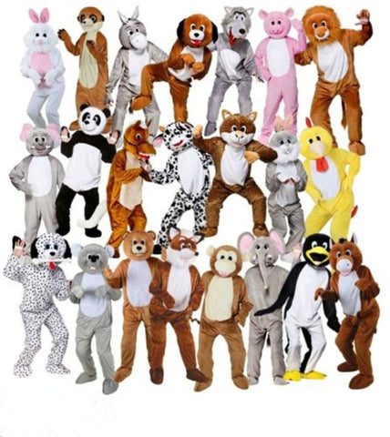 Funny Adult Halloween Animal Mascot Costumes - You can buy this awesome product from Smart Sales Australia!
