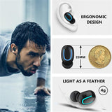 Wireless & Waterproof Bluetooth 5.0 In Ear Headphones & Powerbank w/ Single & Dual Earphones | For Sport, Headset, Handsfree Stereo Ear Buds for All Smartphones - You can buy this awesome product from Smart Sales Australia!