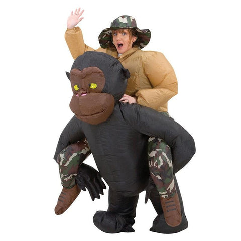 Inflatable Gorilla Cosplay Mascot Costume - You can buy this awesome product from Smart Sales Australia!