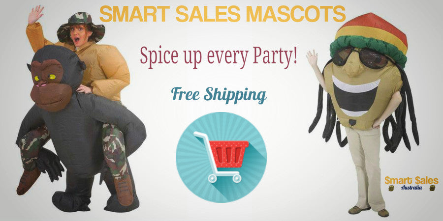 Mascot costumes for parties!