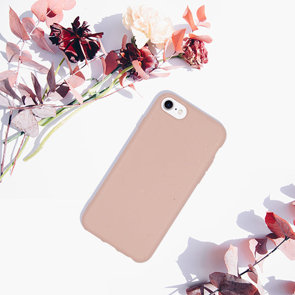 Biodegradable Phone Case - Pink