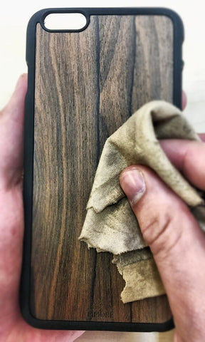 iphone x wood case