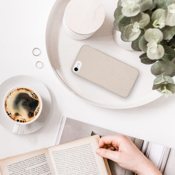 Biodegradable Phone Case - Natural White