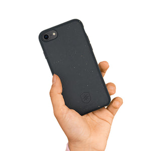 Antiviral Biodegradable phone case - Black