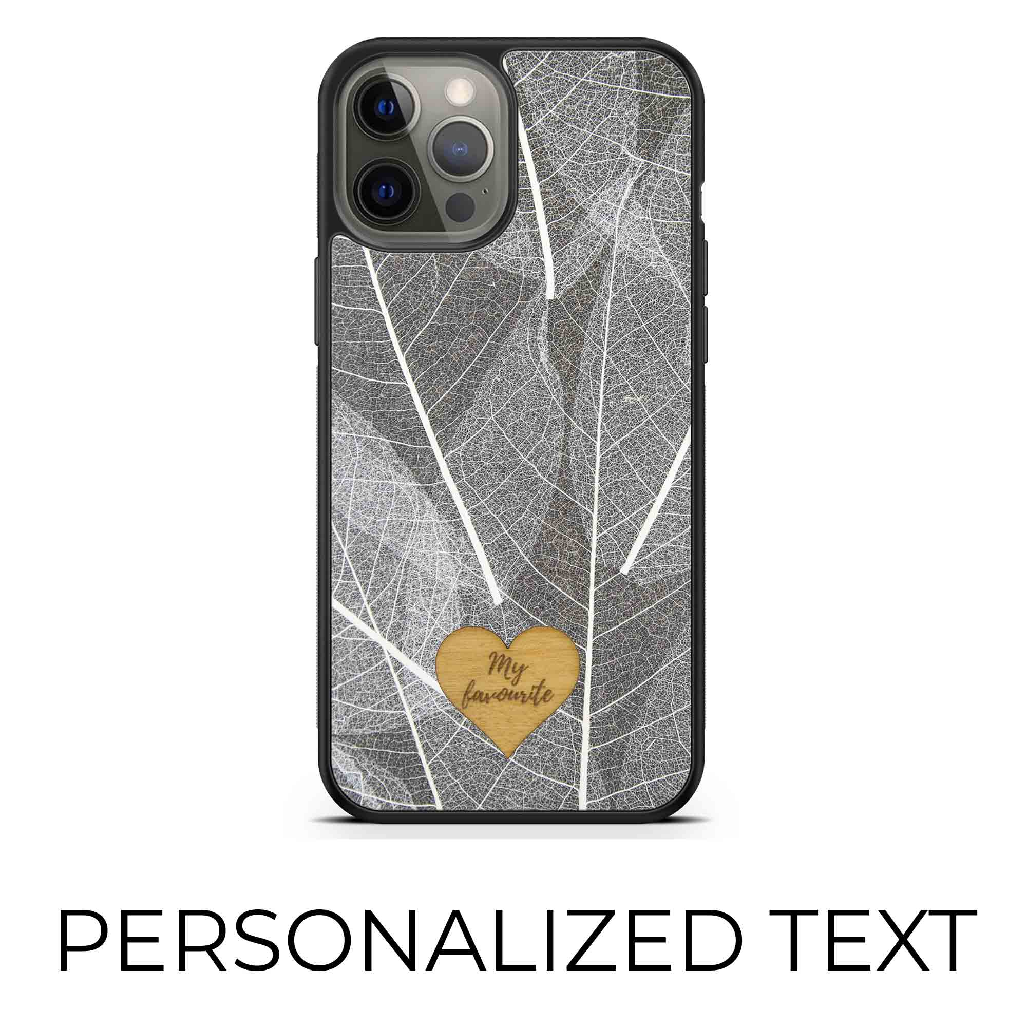 Skeleton Leaves - Personalized phone case - Personalized gift