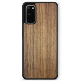 Real Wood Phone Case for Samsung Galaxy S20 Samsung Galaxy S20 Plus in Black Colour made from American Walnut wood