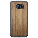 Real Wood Phone Case for Samsung Galaxy S6 Edge made from American Walnut wood