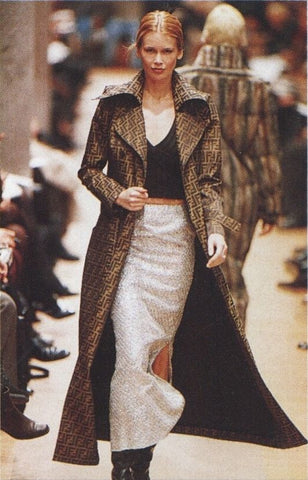 claudia in Fendi 1990