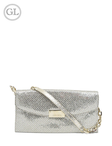 Jimmy choo glitter party mini shoulder bag