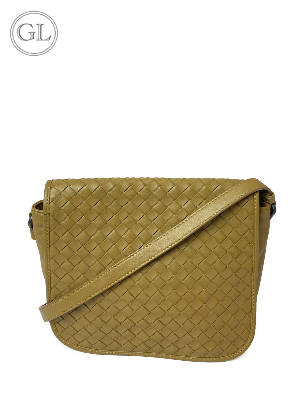 Buy online Bottega Veneta Black Leather Intricciato